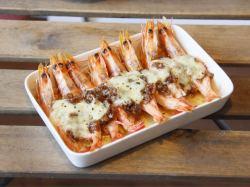 芝士蒜蓉烤虾