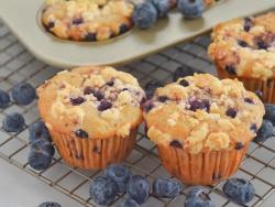 爆浆蓝莓马芬蛋糕