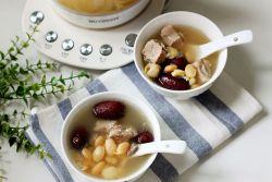 白扁豆莲子排骨汤