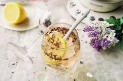 薰衣草柠檬蜂蜜茶