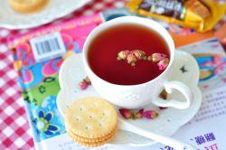 玫瑰洛神花山楂茶