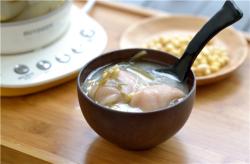 猪蹄海带黄豆汤