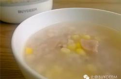 玉米火腿薏米粥