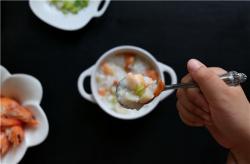 干贝虾胡萝卜粥
