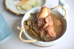 核桃桂圆排骨汤